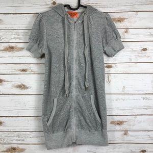 Juicy Couture short sleeve zip hoodie (binPT2)